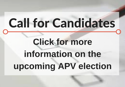 APV Call for Future Leaders: Deadline April 1